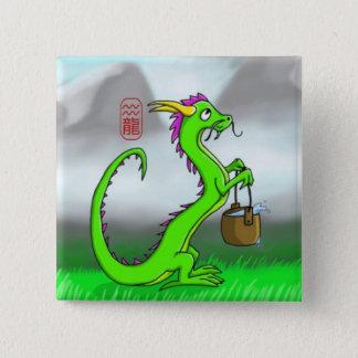 Badge Verseau/dragon