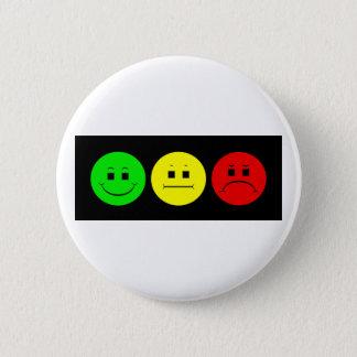 Badge Vert déprimé horizontal de gauchiste de feu