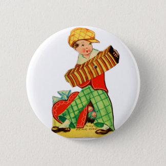 Badge Vieil accordéon vintage de Valentine Little Boy