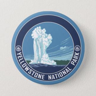 Badge Vieux fidèle - parc national de Yellowstone