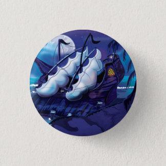 Badge Vieux pirate Sailship accouplé