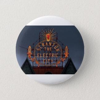 Badge Ville électrique de Scranton