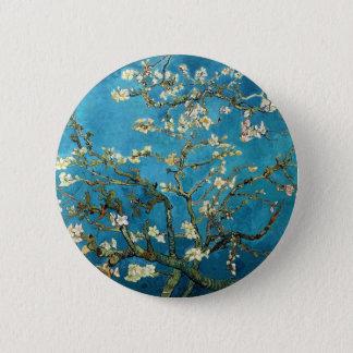 Badge Vincent van Gogh, arbre d'amande de floraison