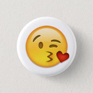 Badge Visage Emoji de baiser