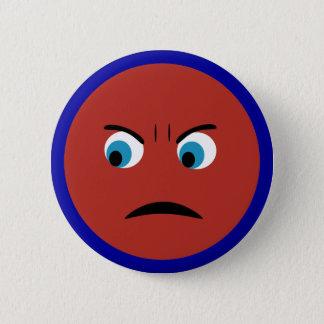 Badge Visage fâché