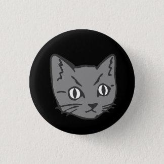 Badge Visage gothique de chat de Kitty