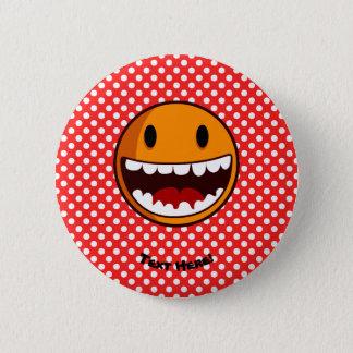 Badge Visage souriant