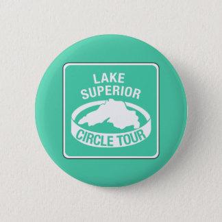 Badge Visite de cercle du lac Supérieur, poteau de