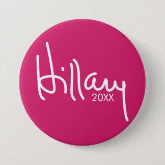 Badge Vitesse de campagne de concepteur de Hillary