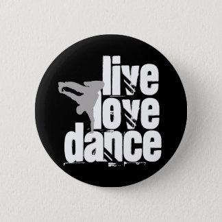 Badge Vivant, amour, danse