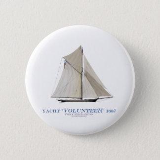 Badge Volontaire 1887