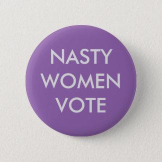 Badge Vote méchant de femmes