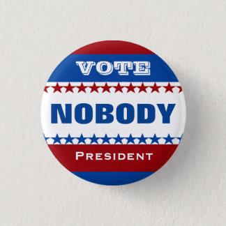 Badge Vote personne pour le président