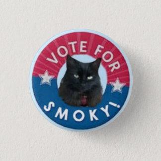 Badge VOTE pour FUMEUX !  RÈGLE de chats noirs !