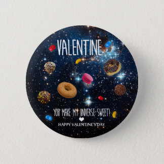Badge Vous faites mon bonbon Valentine à univers