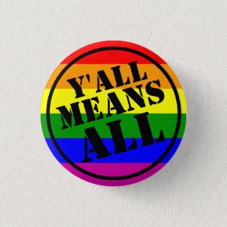 Badge Vous veut dire tout le bouton