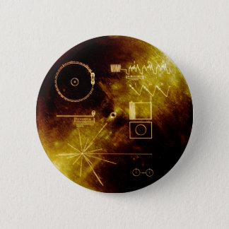 Badge Voyager Golden Record