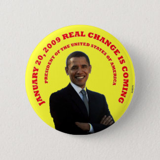Badge VRAI JAUNE DE CHANGEMENT. - Customisé