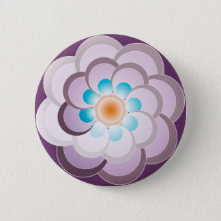 Badge Vrai lila de Pavo. Bouton