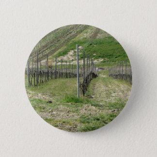 Badge Vue pittoresque de flanc de coteau de roulement