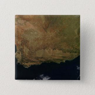 Badge Vue satellite de l'Afrique du Sud