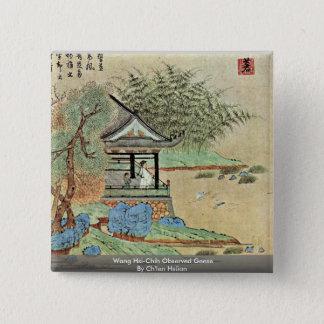 Badge Wang Ses-Chih oies observées par Ch'Ien Hsüan