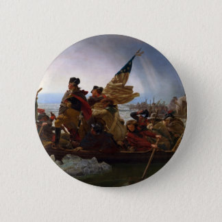 Badge Washington art vintage croisant Delaware - USA