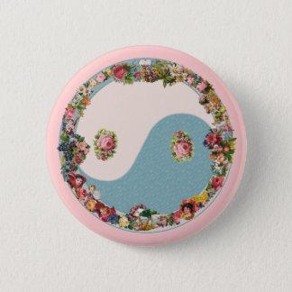 Badge Yin floral Yang de la grand-maman