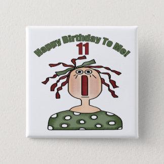 Badges 11èmes cadeaux d'anniversaire Raggedy d'Annie