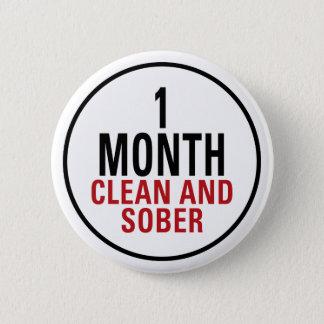 Badges 1 mois propre et de sobre