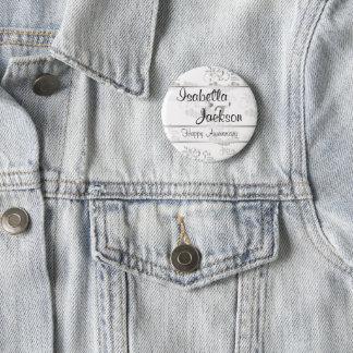 Badges 25ème Anniversaire de noces d'argent
