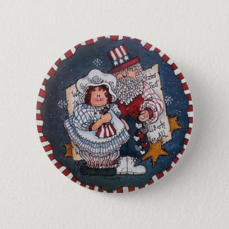 Badges 4 juillet Pin heureux de bouton