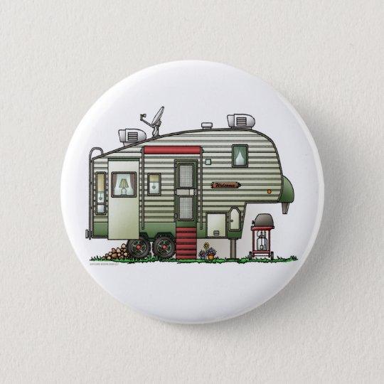 Badges 5ème bouton de pointe de campeur de roue