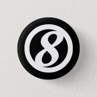 Badges 8ème Bouton de cercle