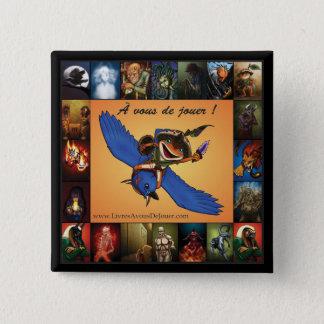 Badges À de jouer vous ! - Macaron 2008-10-14