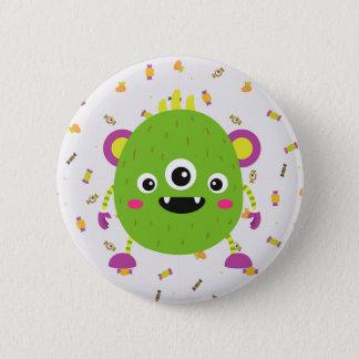 Badges À little ils green monster