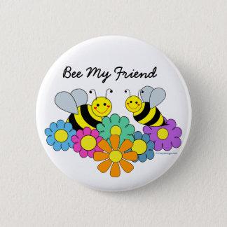 Badges Abeilles et abeille de fleurs mon ami