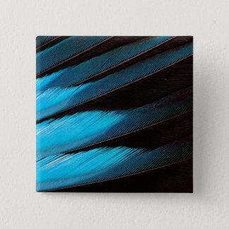 Badges Abrégé sur Bleu-Gonflé plume de rouleau
