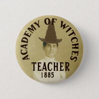 Badges Académie de Pin de professeur de sorcières