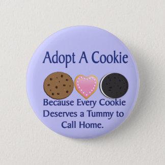 Badges Adoptez un bouton de biscuit