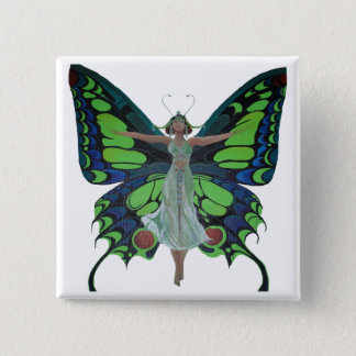Badges Aileron vintage avec des ailes de papillon