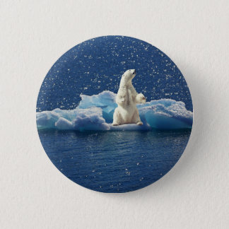 Badges Ajoutez le SLOGAN pour sauver la glace arctique de