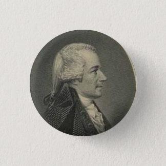 Badges Alexander Hamilton gravant le bouton