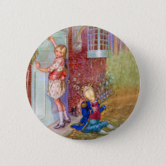 Badges Alice et le fantassin de grenouille chez Doorway