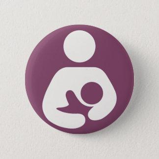 Badges Allaitant l'icône - mauve