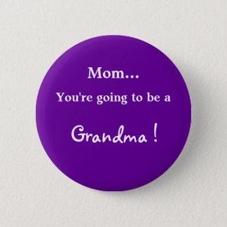 Badges Aller être une grand-maman !