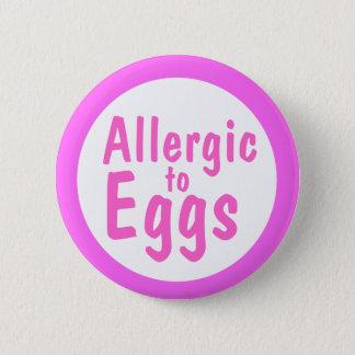 Badges Allergique aux oeufs