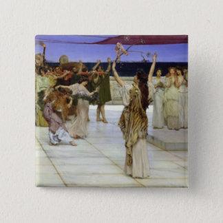 Badges Alma-Tadema | un dévouement au Bacchus
