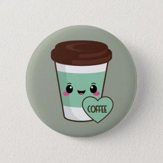 Badges Amant d'Emoji de café