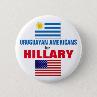 Badges Américains uruguayens pour Hillary 2016